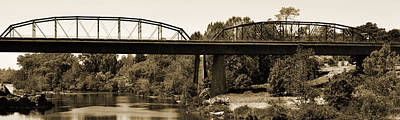 Photograph - Two Arch Bridge by Holly Blunkall