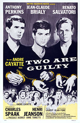 Two Are Guilty, Aka Le Glaive Et La Art Print by Everett
