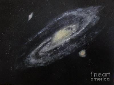 Two Arm Galaxy Art Print by Tony Ramos