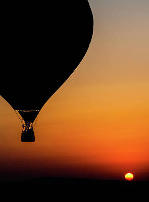 Flying Photograph - Two Balloons by Tomer Eliash