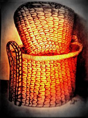 Traditional Bells Rights Managed Images - Two Baskets Royalty-Free Image by Irving Starr