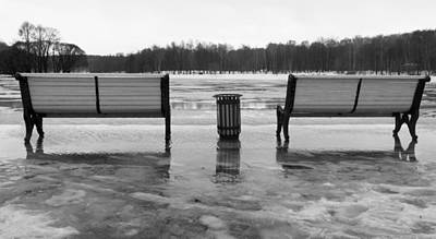 Olympic Sports - Two benches by Nikita Buida