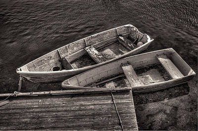 Photograph - Two Boats by Fred LeBlanc