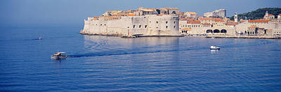 Dubrovnik Photograph - Two Boats In The Sea, Dubrovnik, Croatia by Panoramic Images