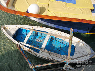 Two Boats Art Print by Mike Ste Marie