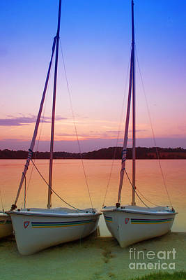 Photograph - Two Boats by Rima Biswas