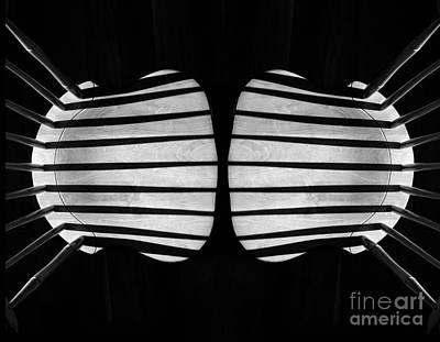 Two Chairs Art Print by Joseph Duba