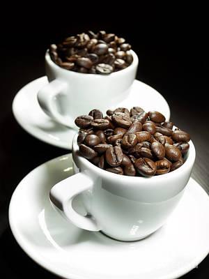 Two Coffee Cups Art Print by Sinisa Botas