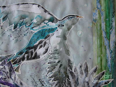 Two Crows  Original by Lisa Genest