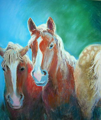 Painting - Two Democrats And A Republican by Judy Fischer Walton