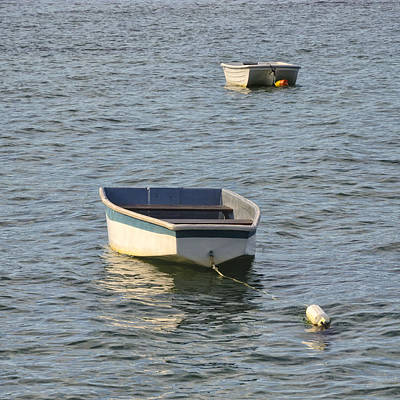 Photograph - Two Dinghies by Marianne Campolongo