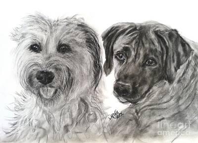 Two Dog Night Art Print