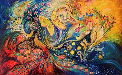 Two Elements Original by Elena Kotliarker