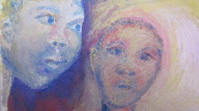 Two Faces Art Print by Cherie Sexsmith