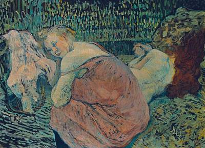 Galerie Painting - Two Friends by Toulouse-Lautrec