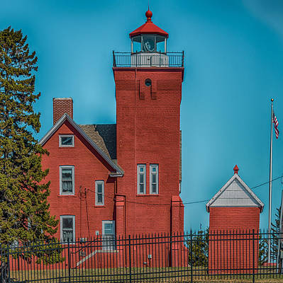 Two Harbors Lighthouse Print by Paul Freidlund