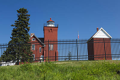 From The Kitchen - Two Harbors MN Lighthouse 25 by John Brueske