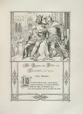 Two Knights Art Print