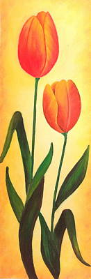 Painting - Two-lips by Tanya Anurag