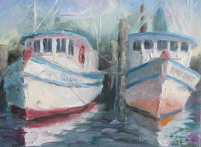 Susan L Richardson Art Painting - Two Marys by Susan Richardson