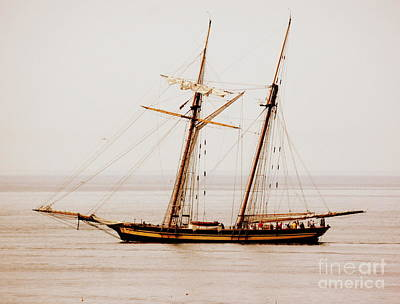 Photograph - Two Mast  Tall Ship by Marcia Lee Jones
