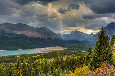 Photograph - Two Medicine - Glacier National Park by Brenda Jacobs