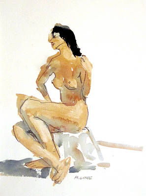 Painting - Two Minute Sketch by Mark Lunde