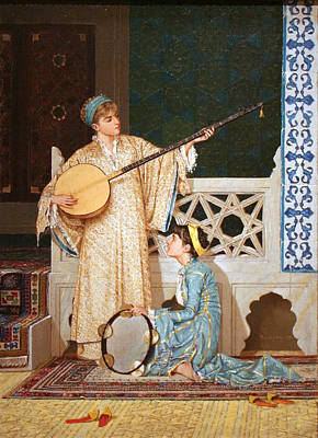 Musicians Royalty Free Images - Two Musician Girls Royalty-Free Image by Celestial Images