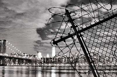 Photograph - Two New Yorks by JC Findley