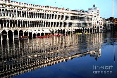 Photograph - Two Of Piazza San Marco by Jacqueline M Lewis