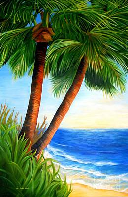 Painting - Two Palms by Shelia Kempf