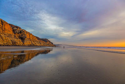 California Ocean Photograph - Two by Peter Tellone