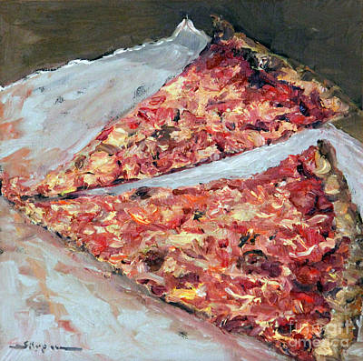 Painting - Two Pieces Left by Shelley Koopmann