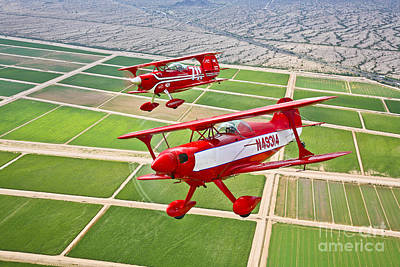 Two Pitts Special S-2a Aerobatic Art Print