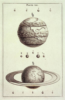 Astronomical Object Photograph - Two Planets by British Library
