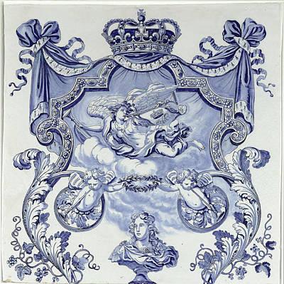 Two Plaques From A Column, De Grieksche Art Print