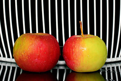 Two Red Apples  Original