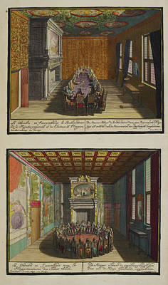 Two Rooms Art Print by British Library