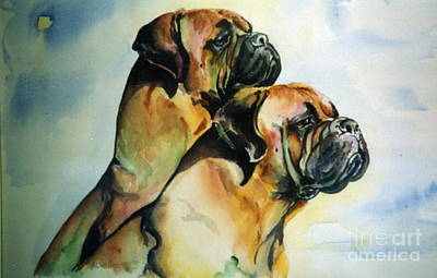 Two Sisters Art Print by Adele Pfenninger