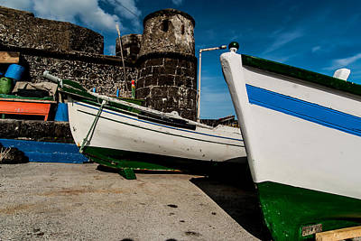 Photograph - Two Small Boats Docked by Joseph Amaral