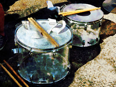 Photograph - Two Snare Drums by Susan Savad