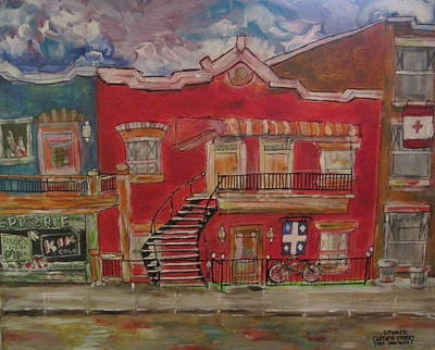 Papineau Painting - Two Solitudes by Michael Litvack