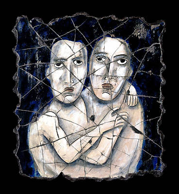 Bogdanoff Painting - Two Souls by Steve Bogdanoff