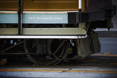 Two Standees Only Art Print by SFPhotoStore