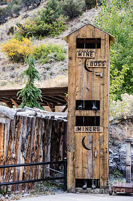 Photograph - Two-story Outhouse by Sue Smith
