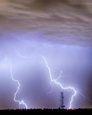 Cloudscapes Photograph - Two Strikes by James BO  Insogna