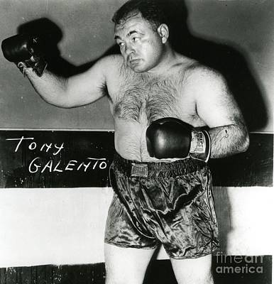 Photograph - Two-ton Tony Galento by Roberto Prusso