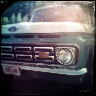 Photograph - Two-tone Ford Pickup by Tim Nyberg