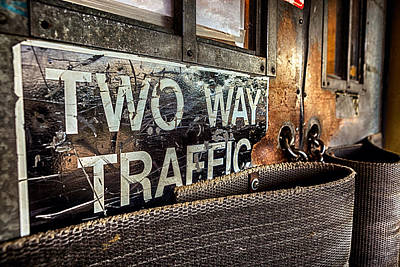 Photograph - Two Way Traffic by Sennie Pierson