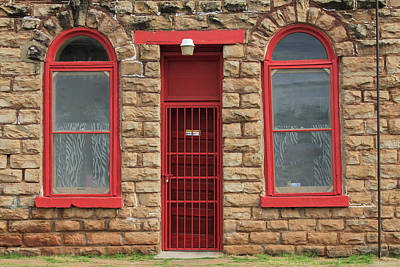 Photograph - Two Windows And A Door by Richard Smith
